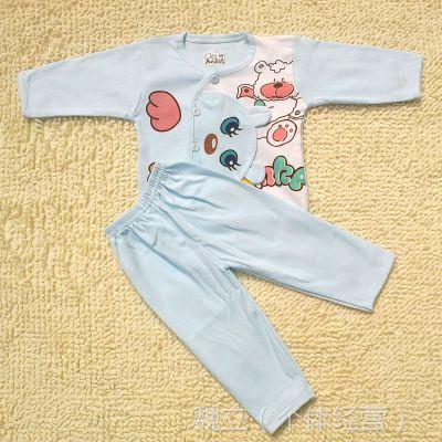 2014春装新款纯棉内衣套装 精梳棉造型宝宝套装 婴儿套装批发