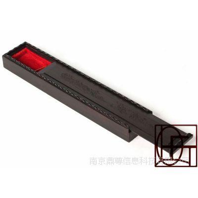 黑檀木筷子盒 红木礼品筷子盒两双装/黑檀木雕刻筷子盒带内衬
