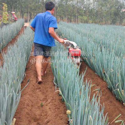 圣通牌田间施肥开沟机 黄姜种植开沟机 手扶式根茎收货机