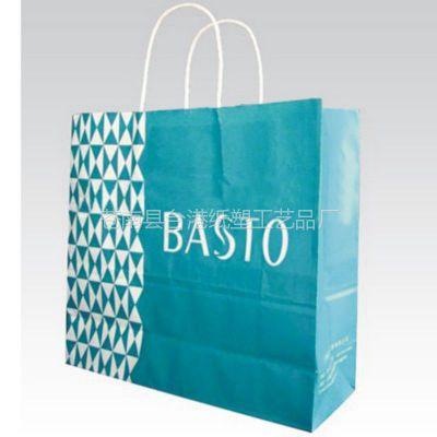 优质供应 牛皮手提纸袋 环保手提袋 服装纸袋