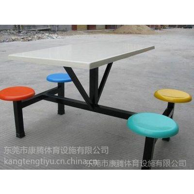 供应佛山食堂玻璃钢餐桌椅 学生饭堂餐桌椅 快餐店桌椅 厂家直销