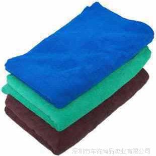 供应  特大号超细纤维擦车巾洗车布 毛巾打蜡毛巾擦车布160*60cm