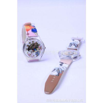 深圳手表厂供应塑胶儿童表 3D卡通手表  电子表