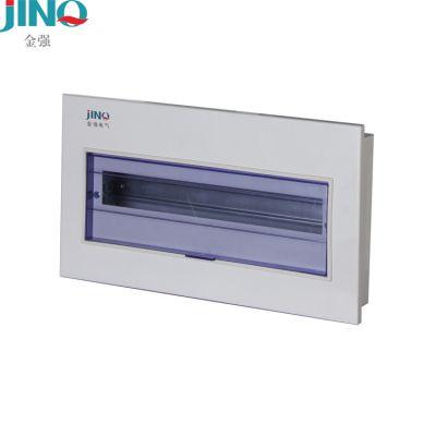 厂家直销金强l老PZ30型家用照明配电箱家用强电箱空气开关漏保集线箱低压电器空开箱JQP8-8回路