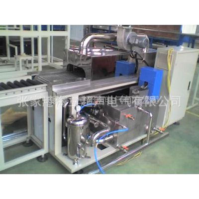 供应轴承 精密五金 液压件 汽车零件 履带通过式全自动清洗机