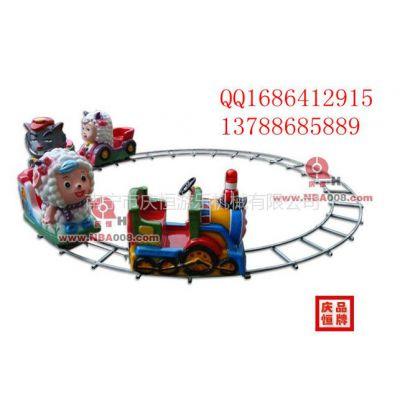 供应天津圆形电瓶轨道火车,重庆轨道小火车多少钱一套