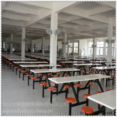 食堂餐桌 不锈钢桌面餐桌 武汉餐桌厂家 餐桌定制