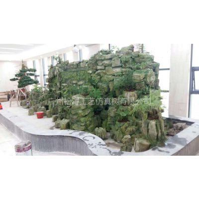 假山施工制作工程 广州假山鱼池施工团队 项目案例 厂家设计生产