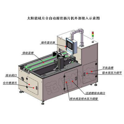 上海范信机电设备 FXJD-1601太阳能硅片全自动插片机