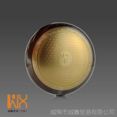 skinfood/SKIN FOOD 黄金鱼子酱蜜粉饼 控油 保湿 正品