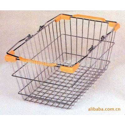 供应广东佛山超市塑料购物篮,购物篮底座,超市设备