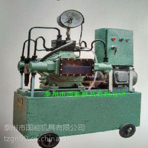 厂家直供4DSK型压力自控电动试压泵国能机具