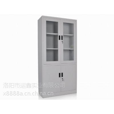 西安运鑫钢制办公铁皮柜储物柜工厂价格款式订制