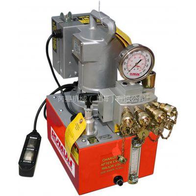 供应带风冷液压扳手专用泵站,液压扳手专用电动泵站,电动液压泵