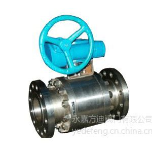 供应锻打不锈钢f球阀 高温固定球阀 零泄漏硬密封球阀