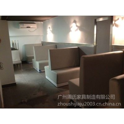 供应餐厅家具餐厅卡座沙发ZS-D114