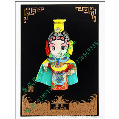 民俗特色纯手工艺品 中国古代戏曲人物风雅堂 泥塑彩绘摆饰礼品