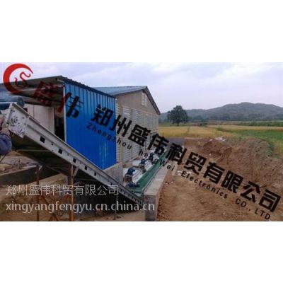 传送带式清粪机、郑州盛伟专供(图)、蛋鸡传送带式清粪机