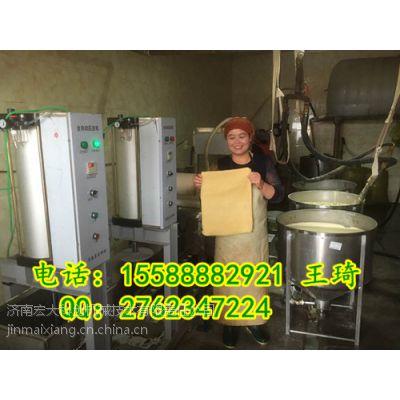 大型仿手工豆腐皮机价格 山东仿手工豆腐皮机器厂家