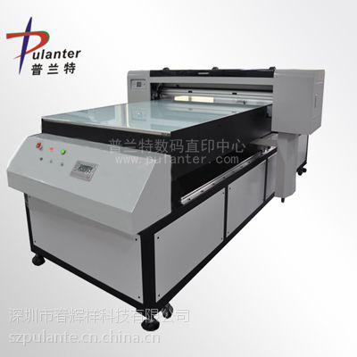 供应深圳热卖型A0大幅批量生产服装平板打印机 快速双向打印纺织机 个性DIY定制打印机
