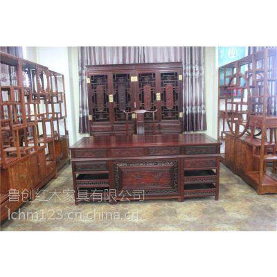 大红酸枝办公桌家具全套系类价格
