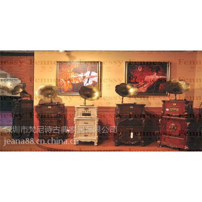 供应招商加盟梵尼诗品牌店 高端实木壁炉 留声机 梵尼诗落地钟