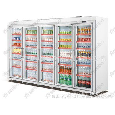 HG28L5FB饮料展示柜 昌大昌冷柜 冷藏展示柜 环保冰柜图片