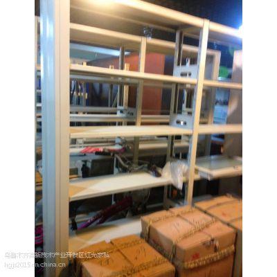 图书存放架 双面书架 供应新疆科美捷HG-2000型简约图书馆双面书架
