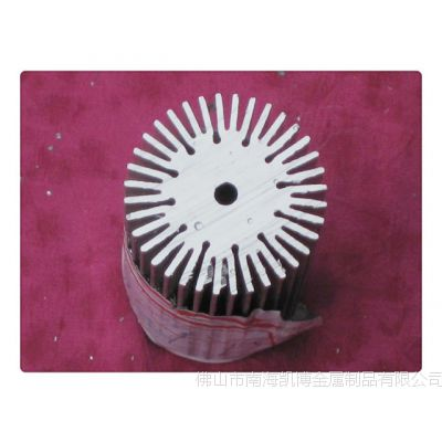 本厂生产销售各种型号铝型材铝制铝太阳花散热器 欢迎来电订购