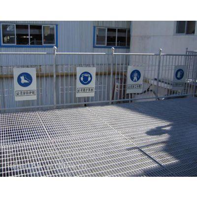 学校踏步板 工厂平台踏步格栅板 楼梯踏步钢格板厂家