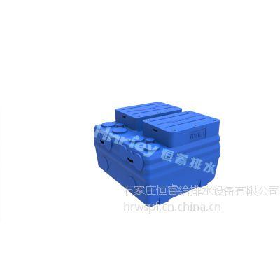 石家庄直供PE箱体、不锈钢箱体污水提升器 强排设备 Hnriey品牌