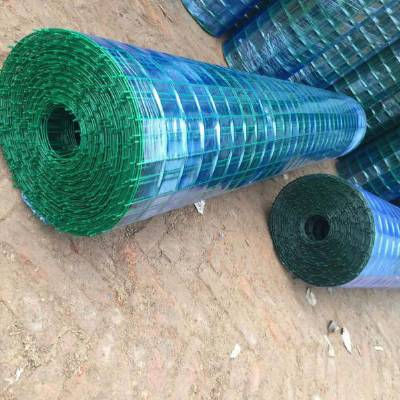 包塑铁丝防腐养殖 圈山 绿色卷网护栏优盾