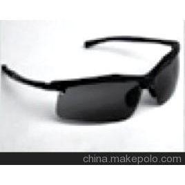 3M防护眼镜LE400G 40178铝合金框架高端墨镜 防刮擦墨镜