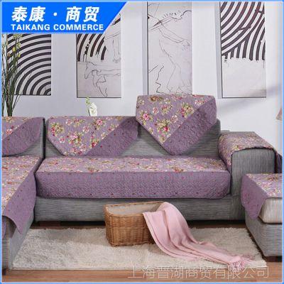 厂家直销 跑江湖十元沙发垫 沙发垫布艺沙发垫 沙发坐垫