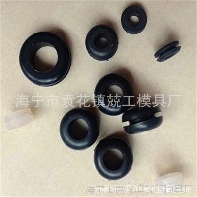 按图按样定做橡胶加工 硅橡胶出线圈 橡胶制品
