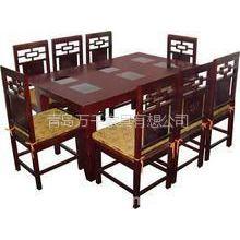 供应青岛兴华家具厂专业定做酒店桌椅火锅桌烧烤桌咖啡桌卡座沙发定做西餐桌肯德基桌椅