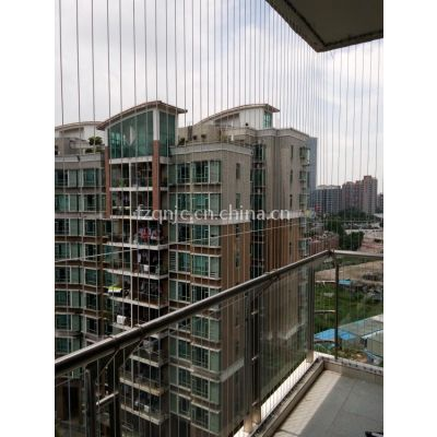 福州316不锈钢丝隐形防护网防盗网儿童防护栏防盗窗