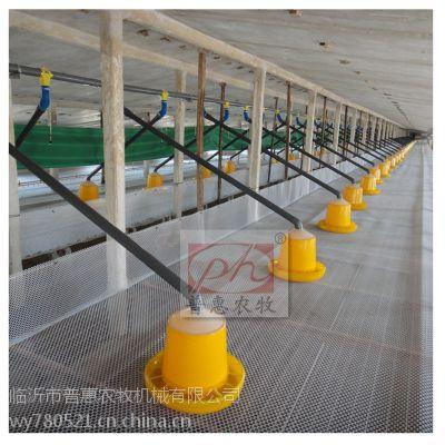肉鸭种鸭水线料线 省时省力省工 pvc75料线专用管道 普惠农牧