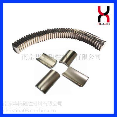 供应钕铁硼强磁 强力磁钢 电机磁瓦 瓦状磁铁