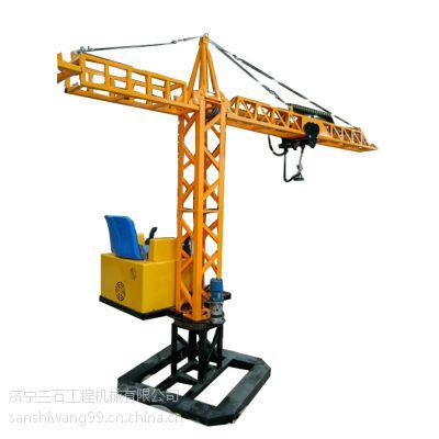 塔吊教学模具供应 儿童起重机新玩法