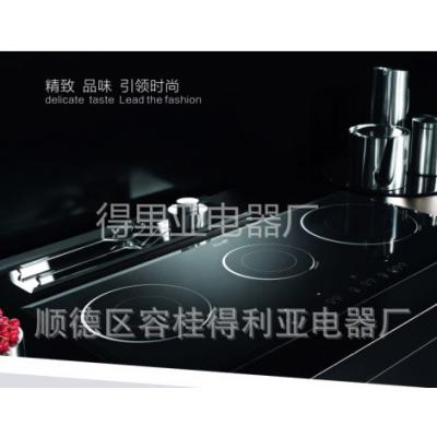 供应原装进口电陶炉 批发定制橱柜电陶炉 嵌入式四眼电灶 厨卫电器批发