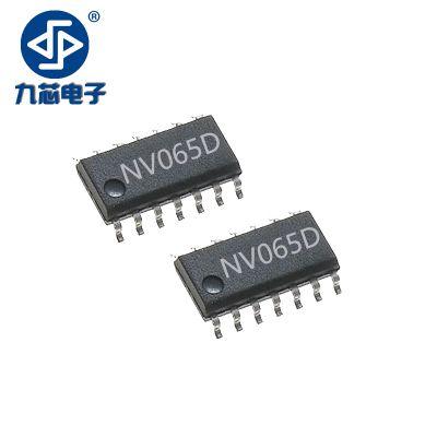 供应九芯电子语音芯片NV065D***多9个按键控制端