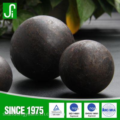 山东伊莱特热轧钢球 超耐磨 低破碎 提升生产效率的矿山用耐磨钢球