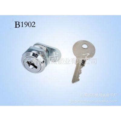 供应厂家批发信箱锁转舌锁,抽屉锁,电表箱锁 直径19 长度16 插片锁