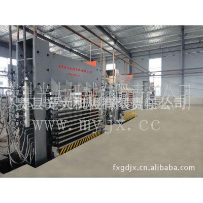 供应费县光大4*8尺胶合板,多层板,建筑模板热压机等全套设备