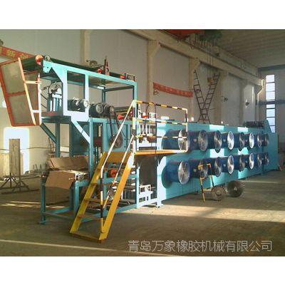 青岛万象橡胶机械厂家直销 悬挂式胶片冷却线落地式胶片冷却机