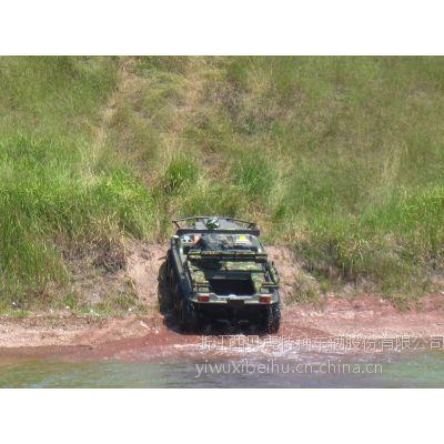 可通过山坡、水、雪地、沼泽、沙漠、森林等任何复杂地形的SQR发动机西贝虎水陆两用全地形车