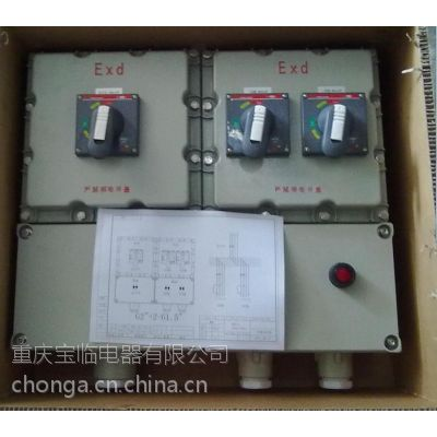 重庆宝临电器上进上出防爆配电箱-下进下出防爆配电箱
