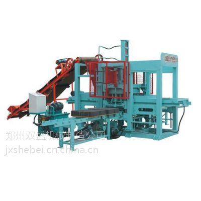双盛砖机(图),河南水泥制砖机厂家,水泥制砖机