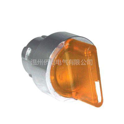 供应台湾侨电按钮开关金属型照光3段手动选择开关CT-BK3  物美价廉